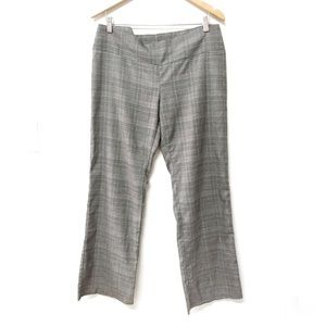 Plaid Business Trousers